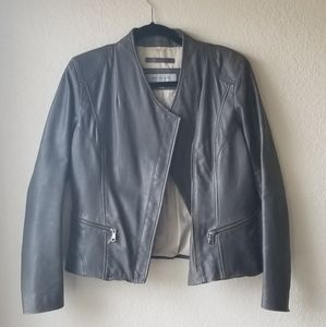 Marc New York Cropped Leather Jacket